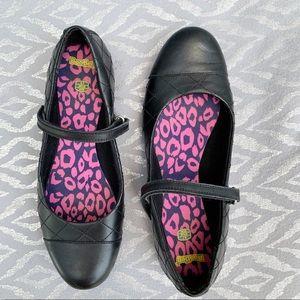 Clark's Bootleg Leather black shoe strap EUR 39.5